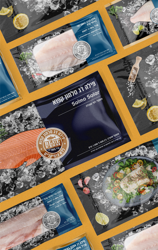 Blue Fish – Fish Package