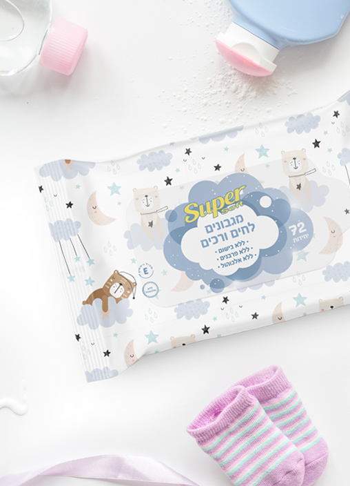 SuperSoft Baby Wet Wipes